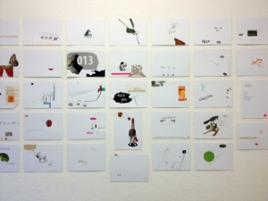 Ausstellungsansicht NOMDEPLUM III Konnektor 2014