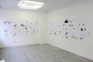 Ausstellungsansicht NOMDEPLUM IV Konnektor 2014
