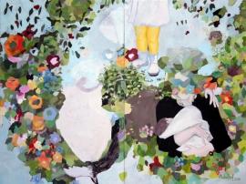 Amata (weißes Herz), 2007